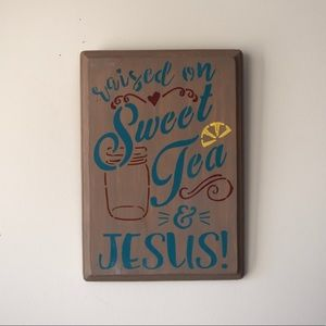 Southern Wooden Sign - Home Decor